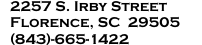 Florence Branch Address